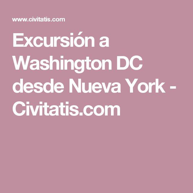 Excursión a Washington DC desde Nueva York - Civitatis.com
