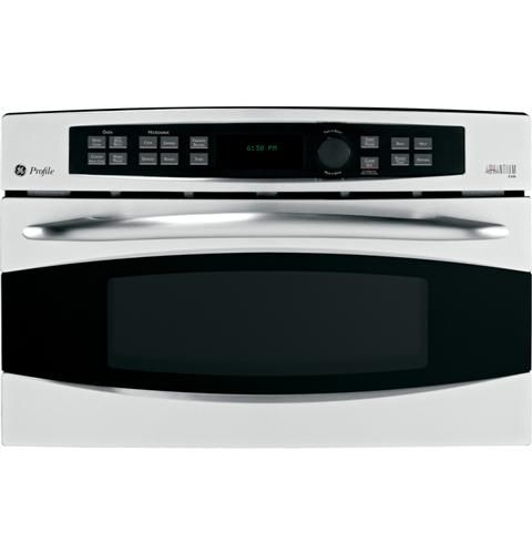 GE Profile Advantium® 120V - 30 in. Wall Oven PSB1201NSS  Cooking Modes: Speedcook, Convection Bake, Broil, Microwave, Warm/Proof, Soften/Melt, Toast (Bread, Bagel, English Muffin) This sits on top of my double oven.