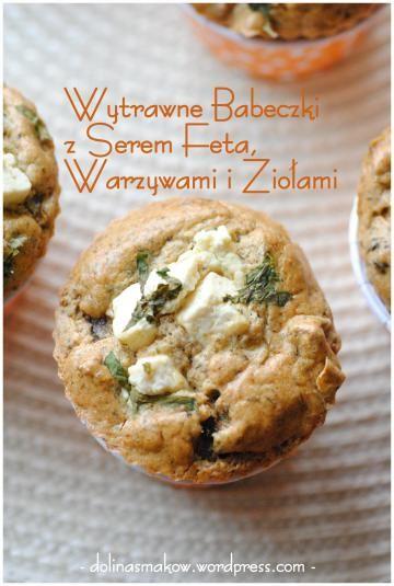 Muffinki owsiane z serem feta – wersja light!