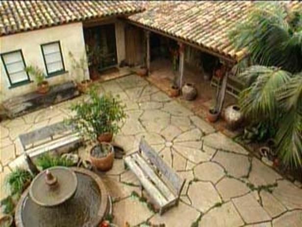 Spanish colonial house plans with courtyard house plan 2017 for Spanish style home plans with courtyard