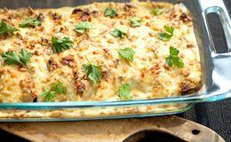Panqueca de ricota e espinafre com molho branco é perfeita para o almoço! Receita da Rita Lobo.