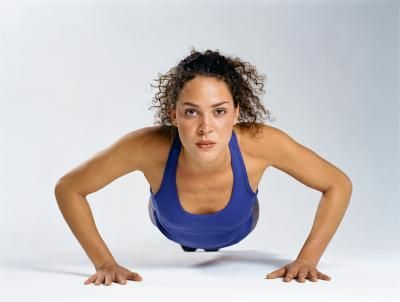 Perky breasts are a sign of youth and good physical condition. However, time takes its toll on all women's mammary glands. Supported by ligaments and affected by skin tone, breast tissue does not contain muscle, although the pectoral muscles lie beneath the breasts. Exercise can increase the size and strength of your pecs, adding fullness to your...