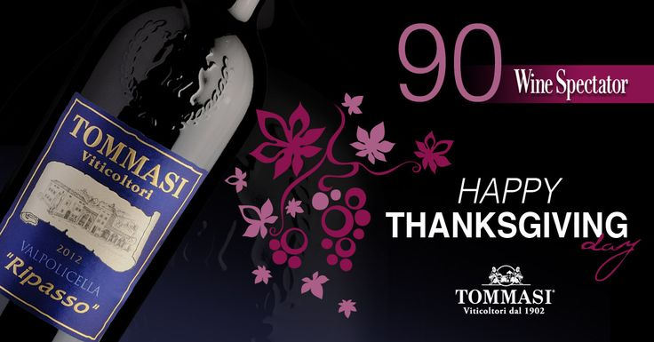 Do you know that our Tommasi Ripasso is the perfect pair of your Thanksgiving turkey? Have a winy #Thanksgiving!! http://www.tommasiwine.it/wine/ripasso-valpolicella/