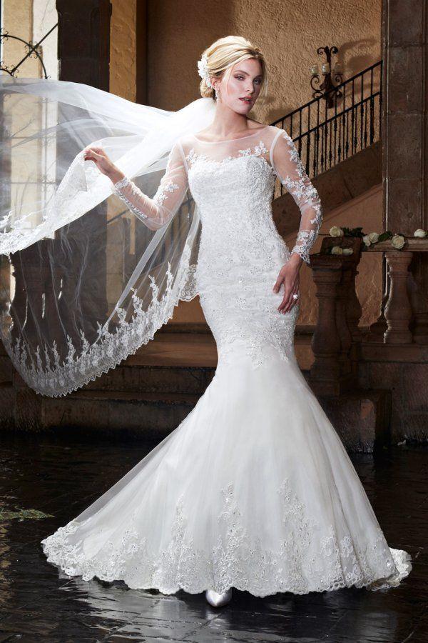 38 best Royal Princess Long Sleeve Wedding Dresses images on ...