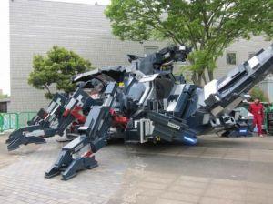 Menakjubkan! KABUTOM RX-03 Robot Raksasa yang Bisa Dikendalikan dari Jauh
