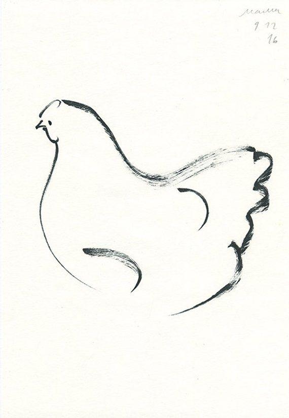Baby Chick Tattoo : chick, tattoo, Drawing