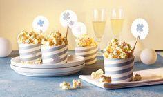 Knuspriges Popcorn mit Schokolade