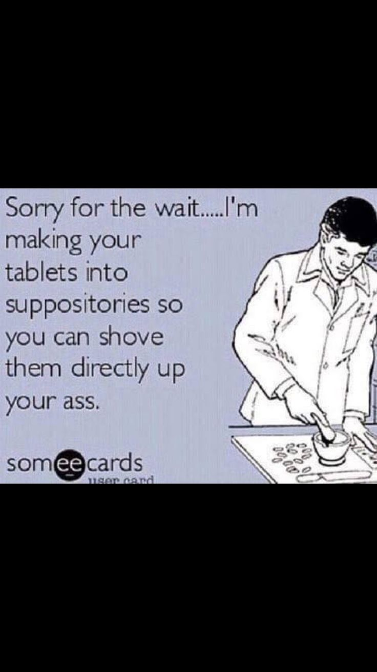 Don't even bother with the unwrap. Oh the life of a Pharmacy Tech!