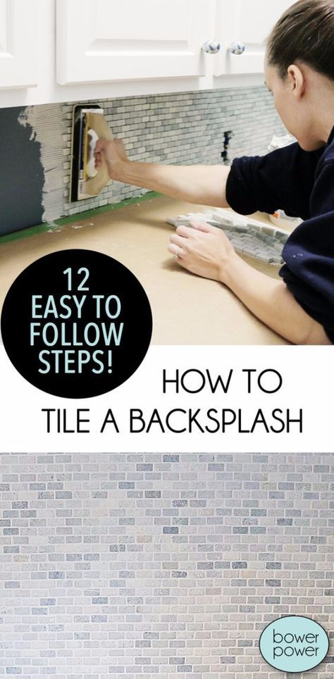 33 Home Repair Secrets From the Pros - Tile A Backsplash - Home Repair Ideas, Home Repairs On A Budget, Home Repair Tips, Living Room, Bedroom, Kitchen Repair, Home Improvement, Quick And Easy Home Tips http://diyjoy.com/diy-home-repair-secrets