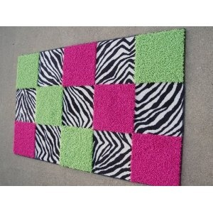 zebra, hot pink and lime green bedrooms - Google Search