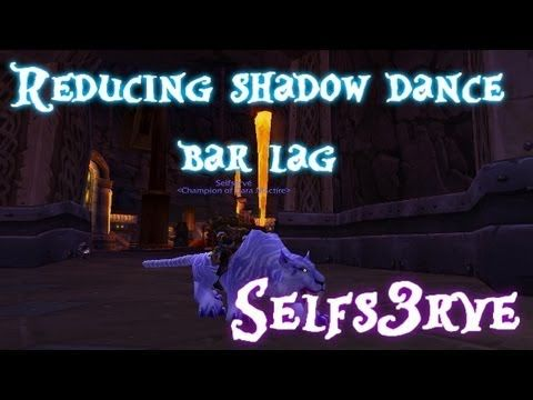 cool WoW Cataclysm Rogue Tips: Reducing / Preventing Shadow Dance bar lag with macros - Selfs3rve