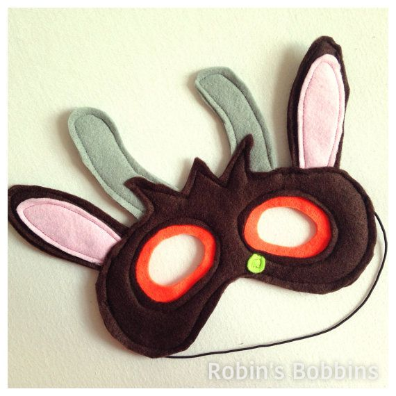 Gruffalo inspired mask Monster mask Felt by RobinsBobbinsCrafts