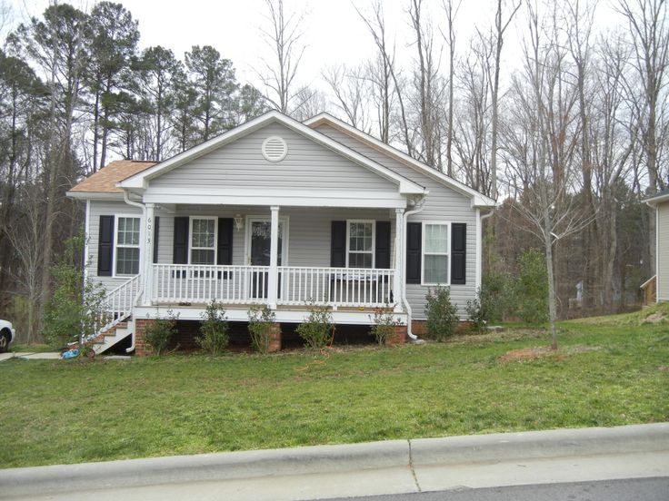 Habitat for Humanity house where NC Gutter Guys, Inc. installed free gutters and downspouts in Raleigh.