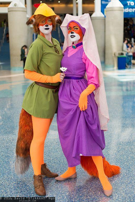 Disney Fuchs Robin Hood Kostüm selber machen   Kostüm Idee zu Karneval, Halloween & Fasching