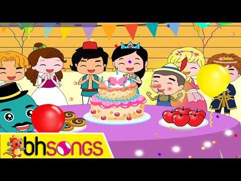 Happy Birthday song lyrics vocal | Fairytale Style | Nursery Rhymes | Ultra HD 4K Music Video - YouTube
