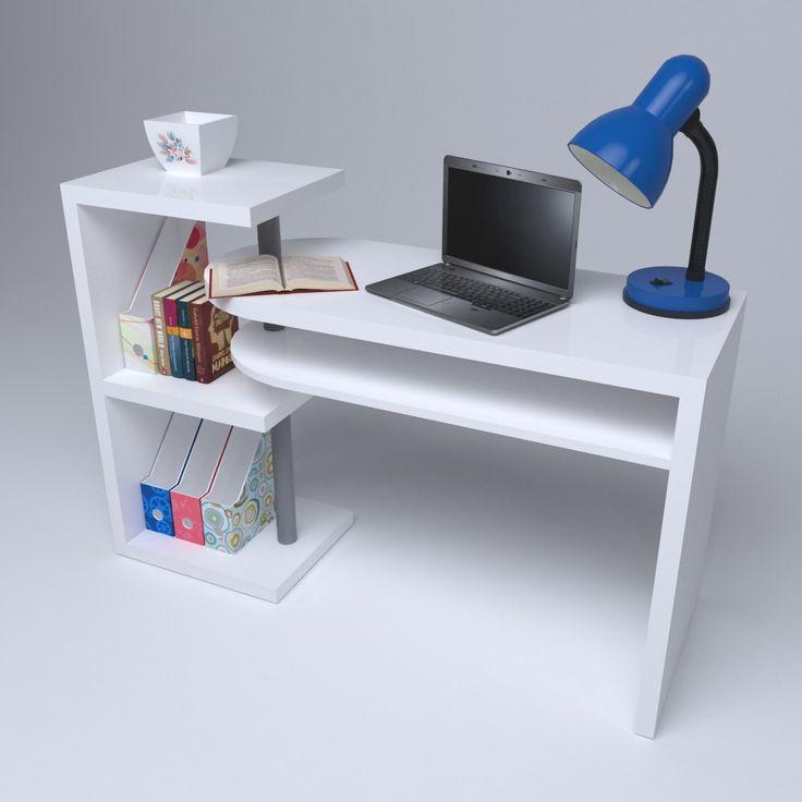 3D obj desk office room