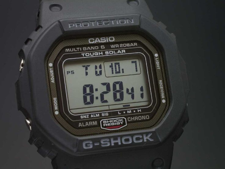 CASIO G shock GW-5000-1JF MULTI BAND 6 JAPAN MADE | seiyajapan.com