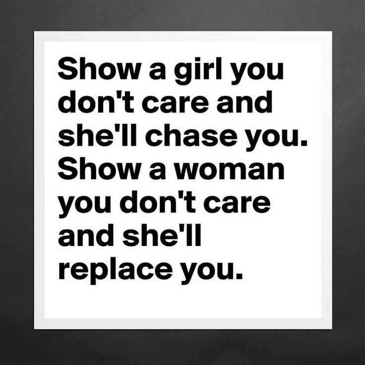 Matthew Hussey (@matthewhussey) | Twitter Show a girl you don't care and she'll chase you. Show a woman and she'll replace you.