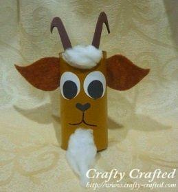 Поделка коза - Сайт для мам малышей
