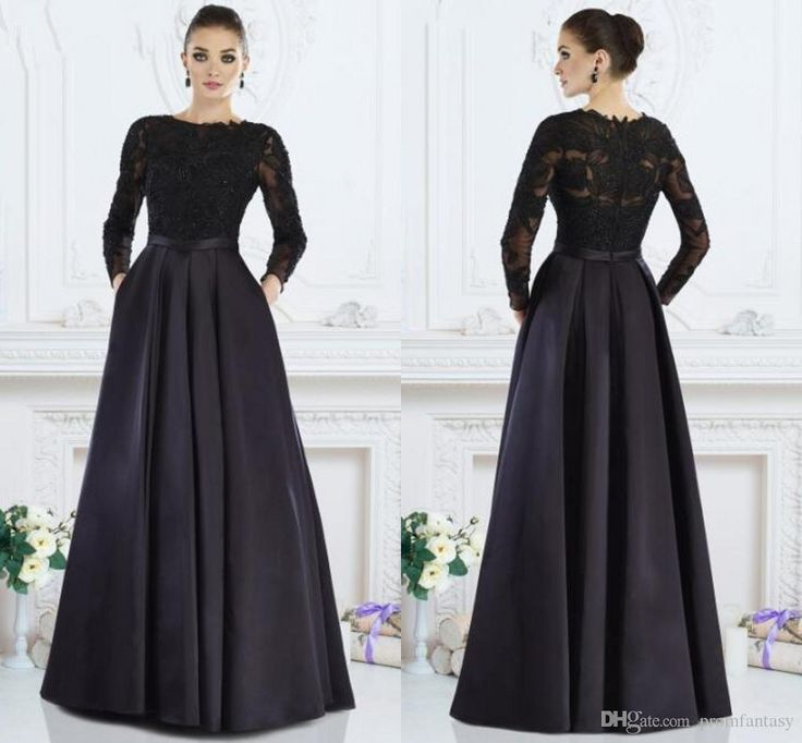 Black Long Mother of the Bride Dresses Illusion Long Sleeves Sheer Back A Line Sash 2016 2017 Saudi Arabic Dubai Beaded Sequins Appliques Beaded Mother of the Bride Dresses Black Mother of the Bride Dresses Long Mother of the Bride Dresses Online with $182.86/Piece on Promfantasy's Store | DHgate.com