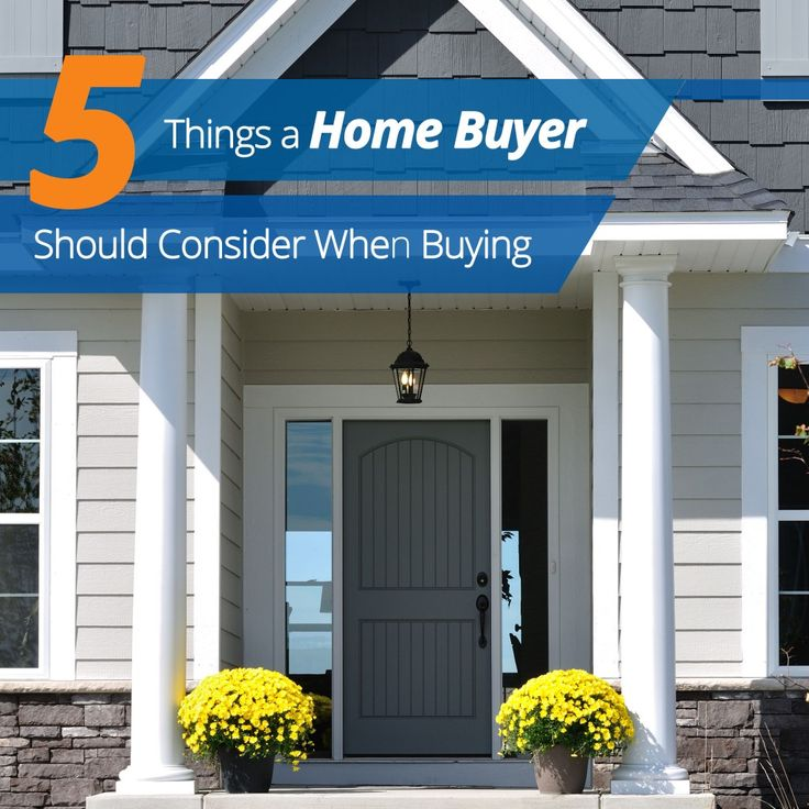 5 tips for home buyers. Check them out here: http://blog.homes.com/2013/10/5-things-a-home-buyer-should-consider-when-buying/