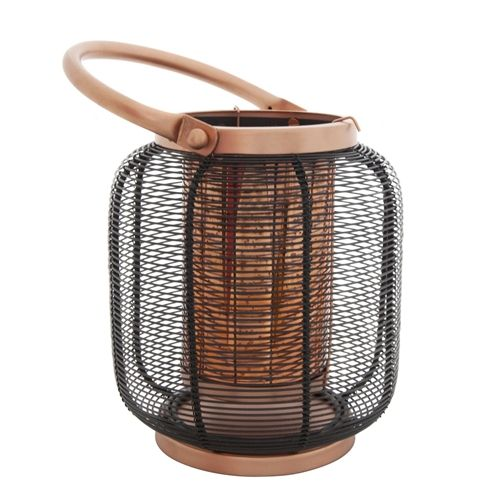 Koh Living Lantern Wire Anique Copper Black medium