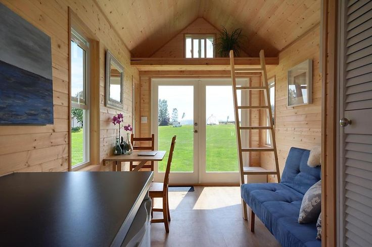 There has been a huge amount of effort and passion put in to the building of this tiny home. It is brand new and has never been used yet.