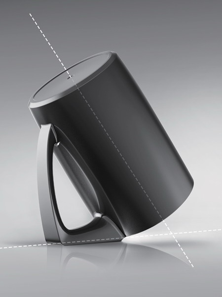 Bevel Cup - Cup Designed For Better Hygiene