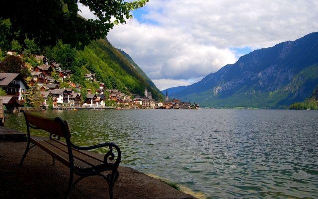 дом у озера в горах - Поиск в Google
