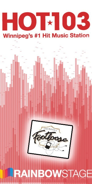 Re-pin this image to win 4 tickets to see 'Footloose', coming June 18th to July 8th to Rainbow Stage!