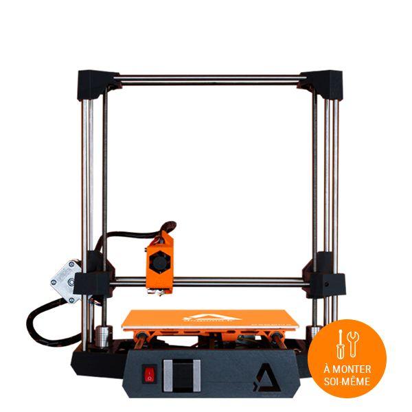 Imprimante 3D à monter soi-même, la DiscoEasy200 en kit vous permettra d'imprimer vos rêves en 3D. A vous d'imaginer le futur !