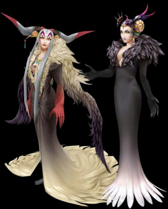 Final Fantasy VIII Sorceress'