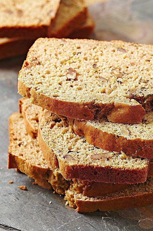 Gluten Free Zucchini Bread Recipe In 2020 Gluten Free Zucchini Zucchini Bread Healthy Baking Recipes