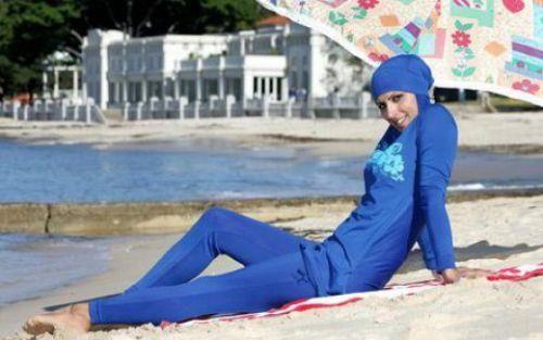 Мусульманский купальный костюм