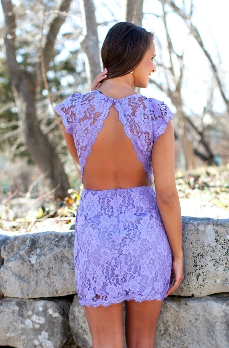 The Pink Lily Boutique - Forever Divine Lavender Lace Dress, $44.00 (http://thepinklilyboutique.com/forever-divine-lavender-lace-dress/)