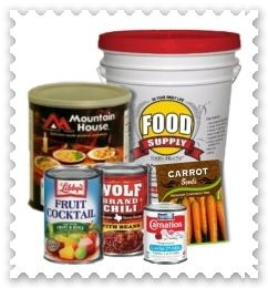 Bulk Food Storage - How To Obtain Longest Shelf LIfe, also Tips On Using Plastic Containers, Buckets and Glass Food Storage Containers for Long Term Storing.