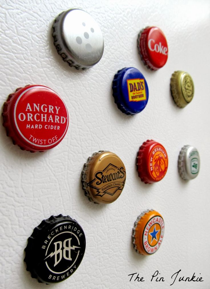 Bottle Cap Magnets..everybody loves these...we only make these from beer we have tried and liked. -The Lyonesse