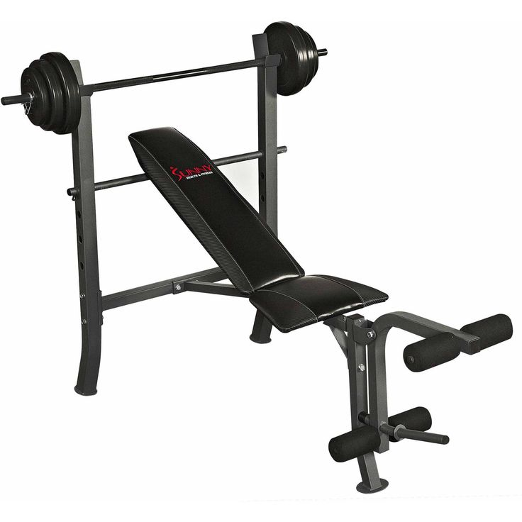 Sunny Health and Fitness SF-BH6510 100 lb Weight/Bench Set Price