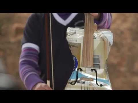 music with instruments created from garbage. Passion at the highest level.