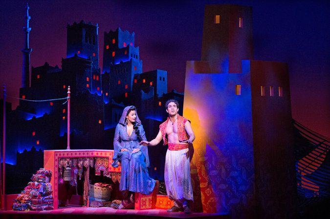 Agrabah City Set | Aladdin Broadway