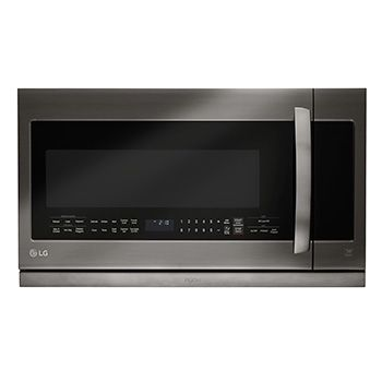 LG Black Stainless Steel Series 2.2 cu.ft. Over-the-Range Microwave Oven. Simple and can go with any style (even a beachy kitchen!)