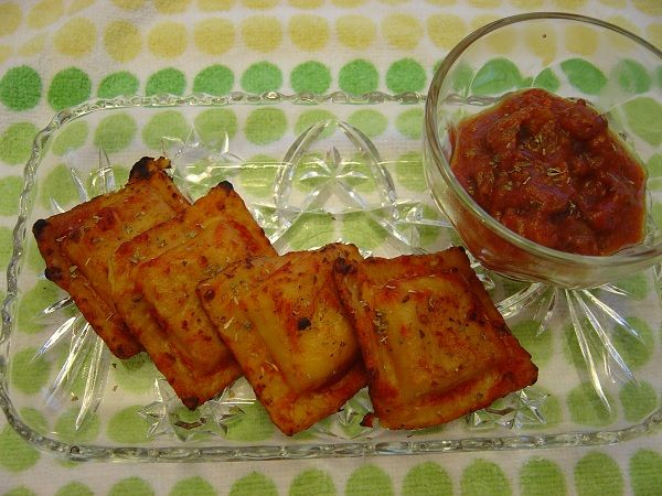 Toasted Ravioli - A tried and true classic. Feel halfway normal while eating HMR foods!