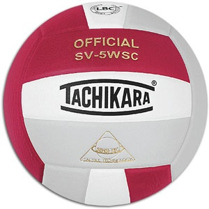 Tachikara Volleyball- Red