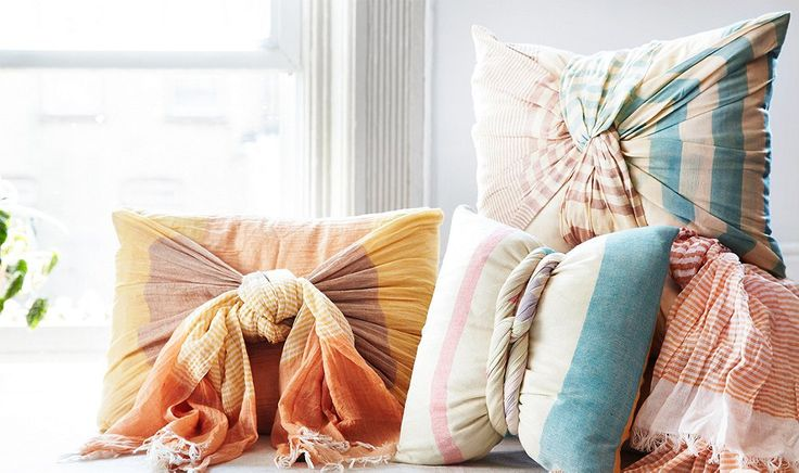 3 Easy Ways to Decorate with Summer Scarves