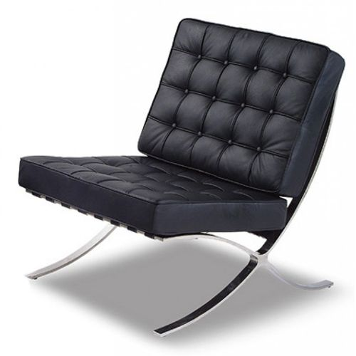 modern furniture leather and chrome - Google Search