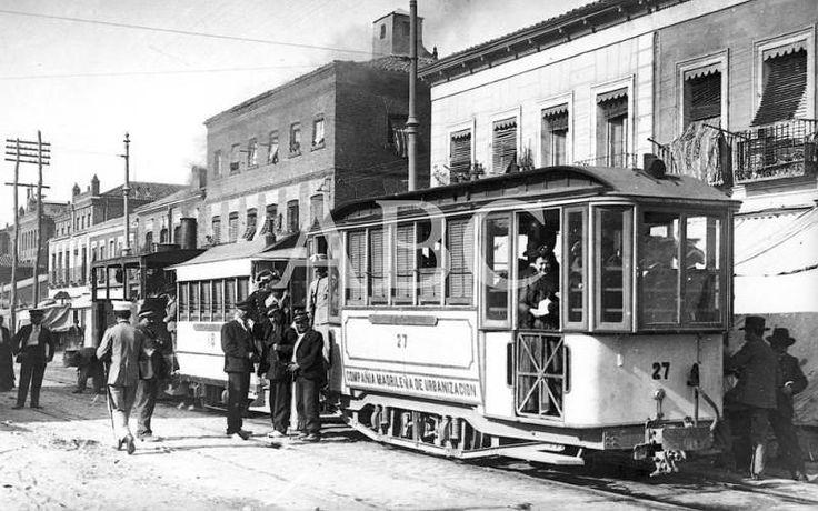 Madrid, 02/01/1900. Tranvías madrileños a principios del siglo XX