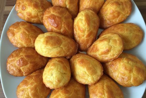 Madeleines au fromage (comté ou gruyère)  | Cooking Chef de KENWOOD - Espace recettes