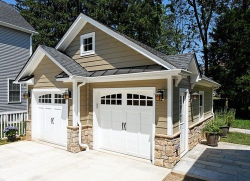 21 best detached garage images on pinterest driveway for House plans with offset garage