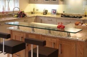 Glass Breakfast Bar Kitchen Ideas Pinterest Tops