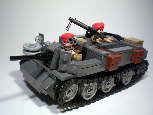lego ww2 tanks | LEGO WW2 Bren Gun Carrier - Universal Carrier
